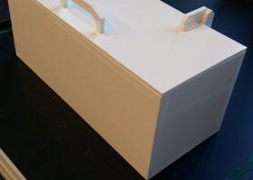 Boite de rangement PPH Blanc
